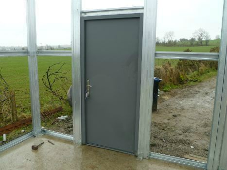 High Quality Factory Finish Personnel Door